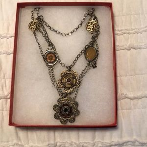 Lucky brand charmed necklace